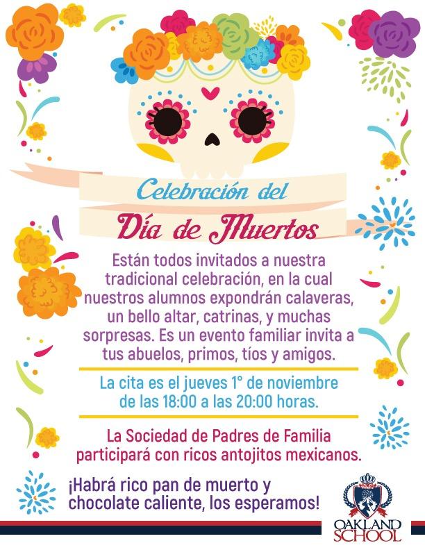 celebracion dia de muertos